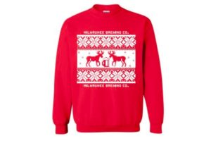 holiday sweater – red